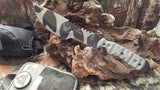 SXB SKULLCRUSHER'S X-TREME BLADE IN CAMO WITH SERRATIONS