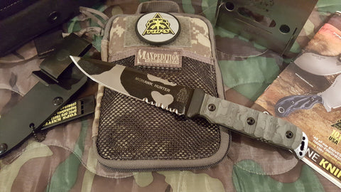 MOHAWK HUNTER IN CAMO / RMT / SERRATIONS