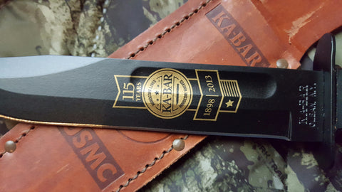 KA-BAR USMC 115th ANNIVERSARY COMMEMORATIVE FIGHTING UTILITY