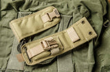 COYOTE TAN BALLISTIC NYLON FOLD-OVER SHORT