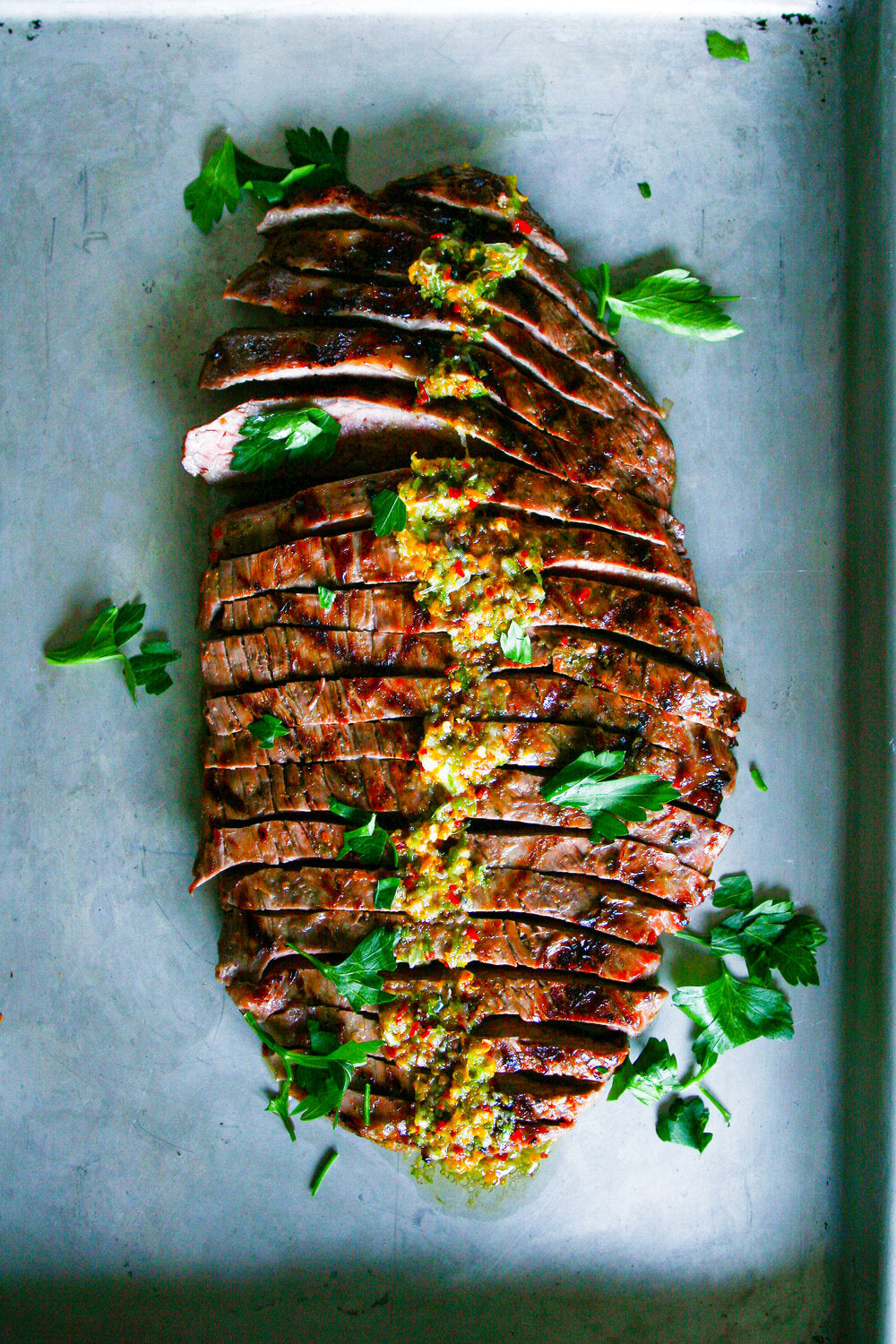 Cory Walby-CITRUS MARINADED FLANK STEAK