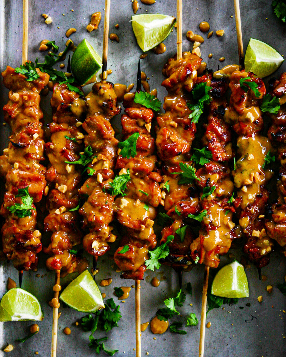 Cory Walby- CHICKEN SATAY WITH KILLER PEANUT SAUCE