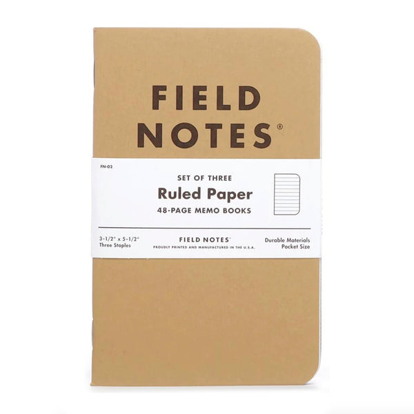 Original Kraft - Ruled Paper