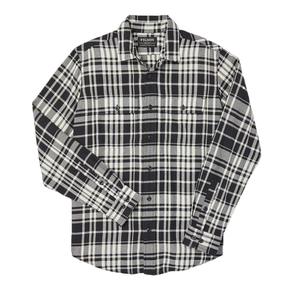 Scout Shirt | Black/Cream Plaid