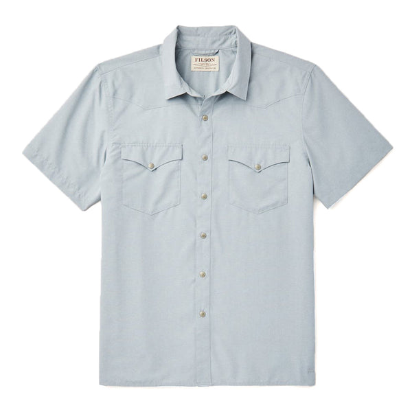 Short Sleeve Snap Front Shirt