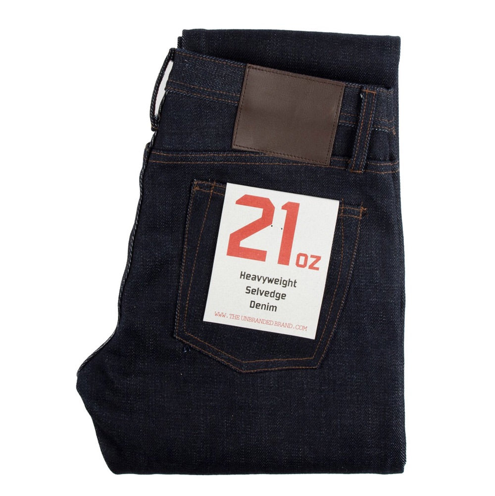 UB121 Skinny 21 oz Denim