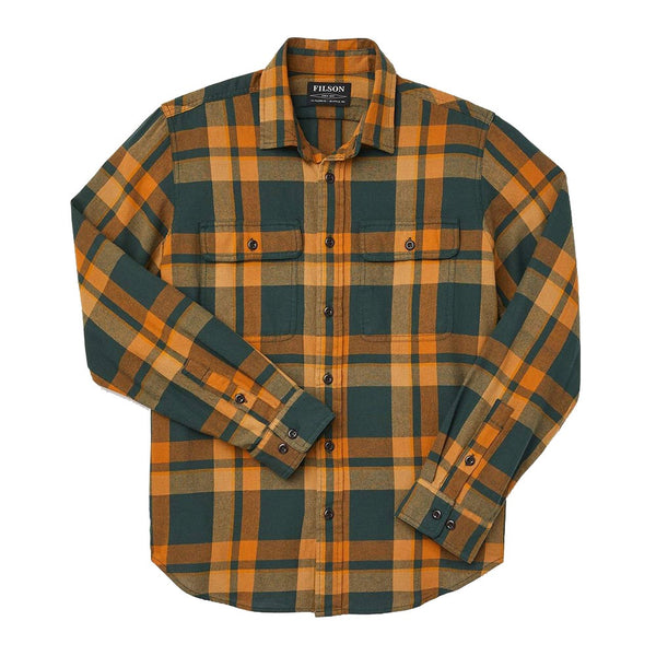 Scout Shirt | Green Gold Plaid
