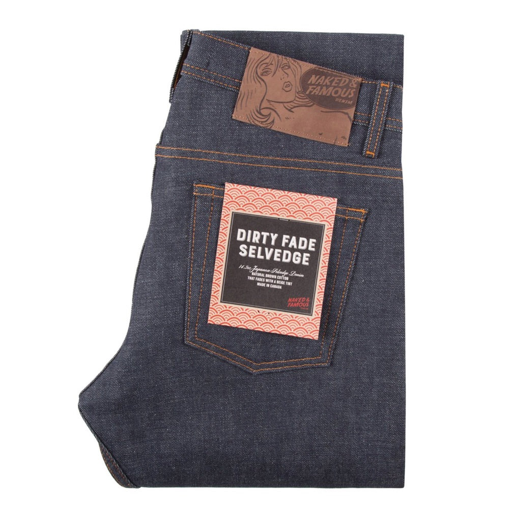 Dirty Fade Selvedge - Super Guy