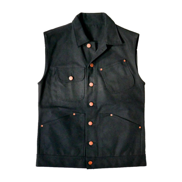 Waxed Work Vest