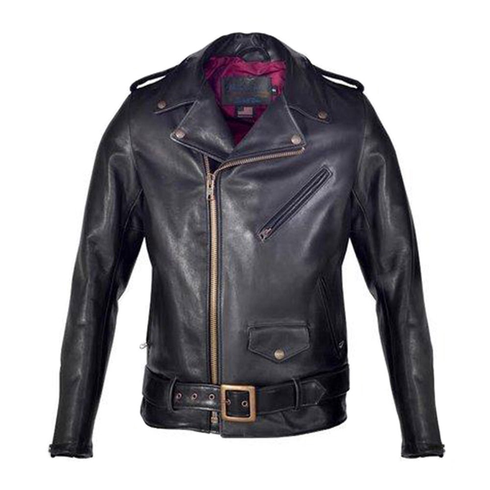 PER 22 Cowhide Perfecto Leather Jacket