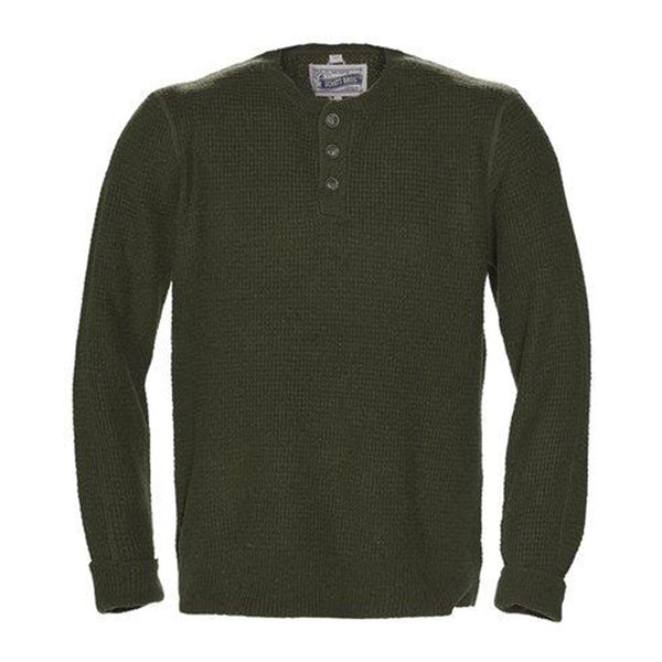 Button Henley Sweater