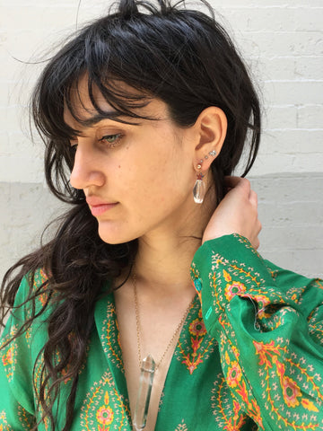 McKenzie Liautaud Rock Crystal Earring - FAIRLIGHT NYC