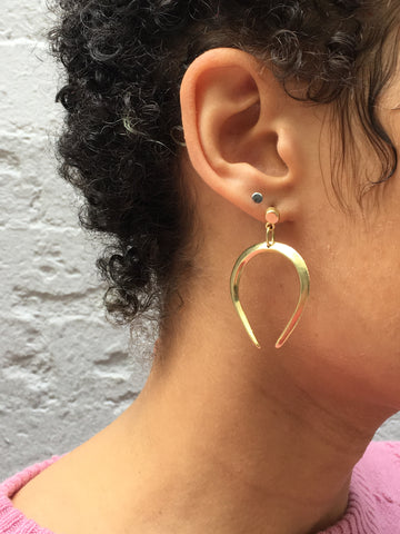 Mercurial Libra Earrings - FAIRLIGHT NYC
