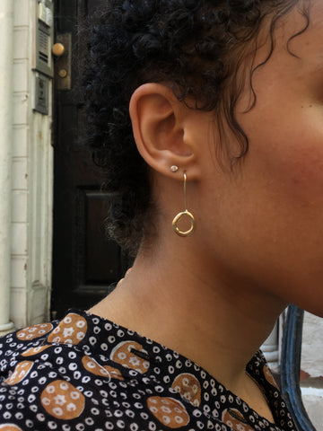 Mercurial Threader Earrings - FAIRLIGHT NYC