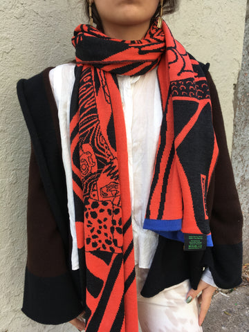 Electronic Sheep - Blanket Scarf - FAIRLIGHT NYC