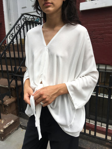 Miranda Bennett Rayon Kahlo Top - FAIRLIGHT NYC