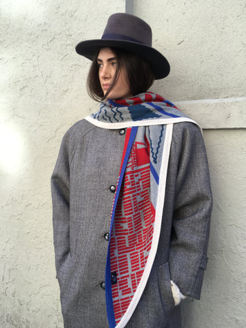 Electronic Sheep - Apartment scarf - FAIRLIGHT NYC