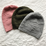 Ros Duke - Textured Cashmere Beanie - FAIRLIGHT NYC