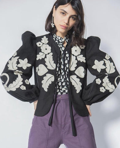 Alix of Bohemia coco Hand Embroidered Jacket