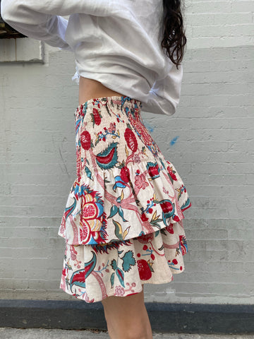 Alix of Bohemia pomegranate Rah Rah Skirt - FAIRLIGHT NYC