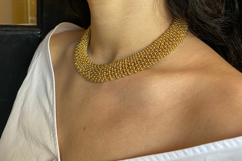 Vintage Ciner Gold Necklace