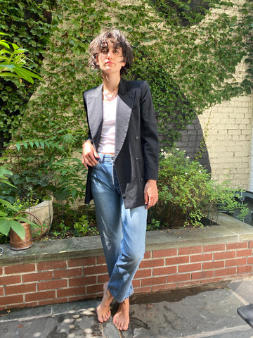 Vintage Escada Double Breasted Blazer