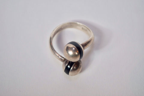 KC Vintage Sterling Silver Ring - FAIRLIGHT NYC
