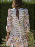 Alix of Bohemia Annabel Patchwork Dress
