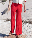 Alix of Bohemia Charlie Cherry Trousers - FAIRLIGHT NYC