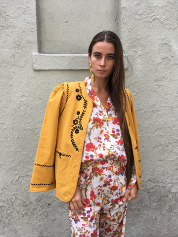 Alix of Bohemia Saffron Jacket - FAIRLIGHT NYC