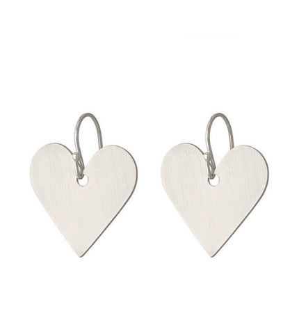 Asia Ingalls Small Heart Earrings