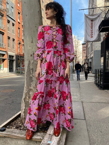 Alix of Bohemia Rambling Rose Dress - FAIRLIGHT NYC