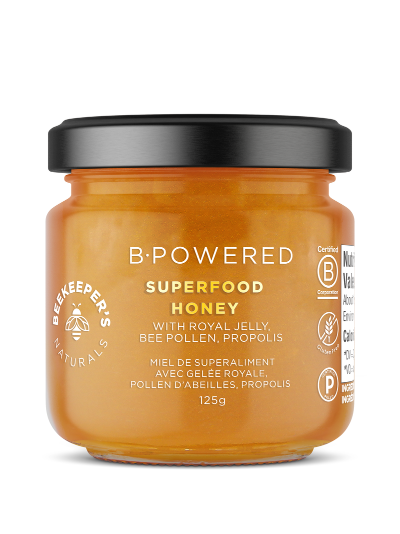 B.Powered Superfood Honey