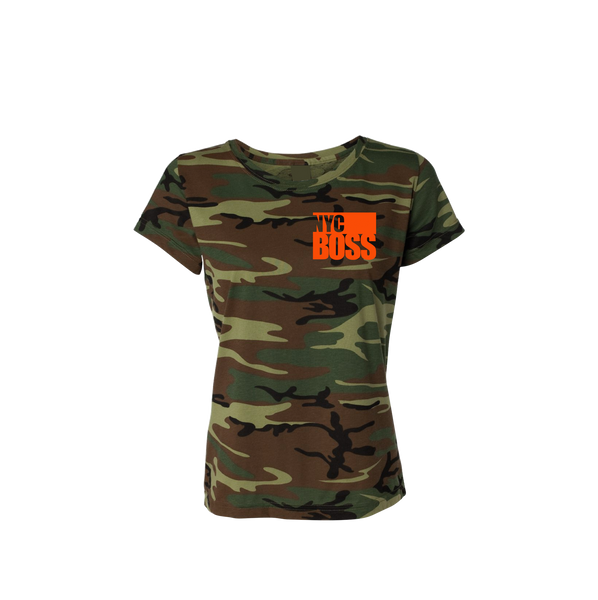 NYCBOSS Juniors Camouflage T-Shirt