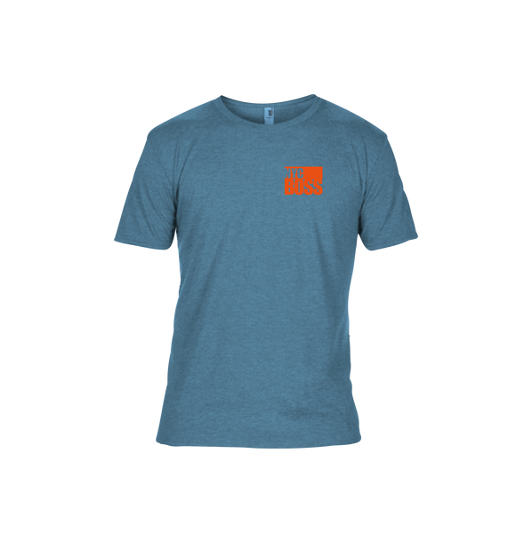 NYCBOSS Mens Light Blue T-Shirt