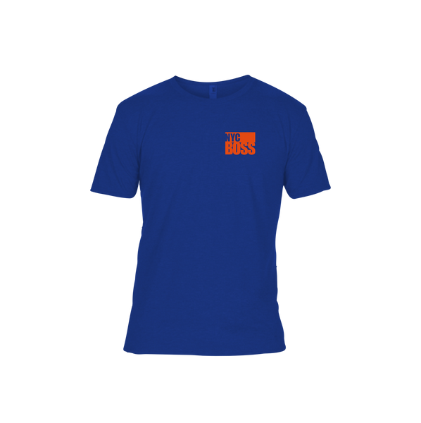 NYCBOSS Unisex/Mens Royal Blue T-Shirt