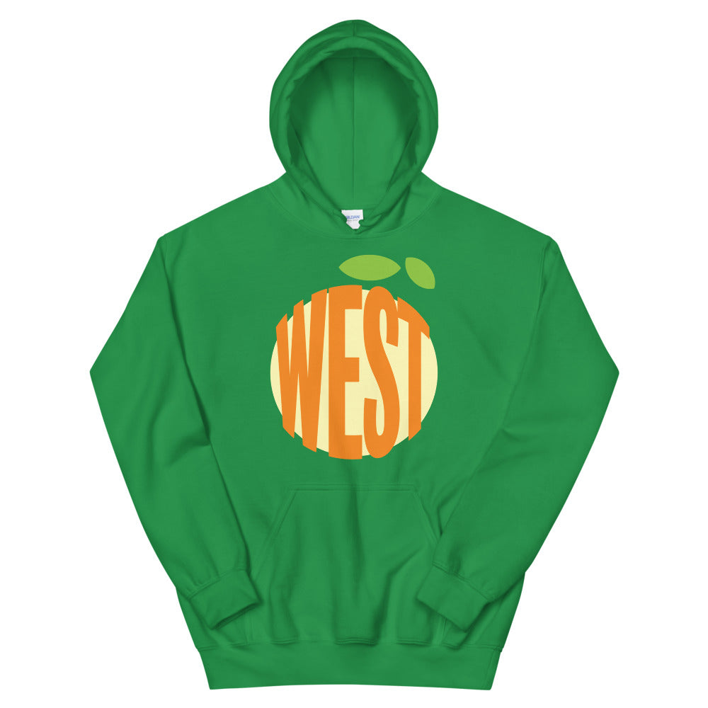 State Garden West Orange Green Hoodie