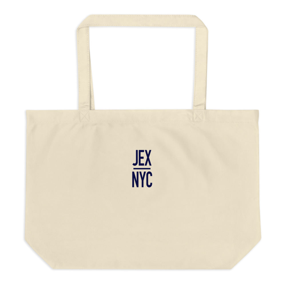 JEX|NYC Large Tote Bag