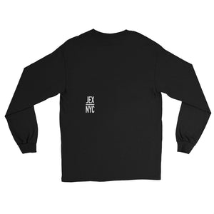 JEXNYC STEAM Black Long Sleeve T-Shirt
