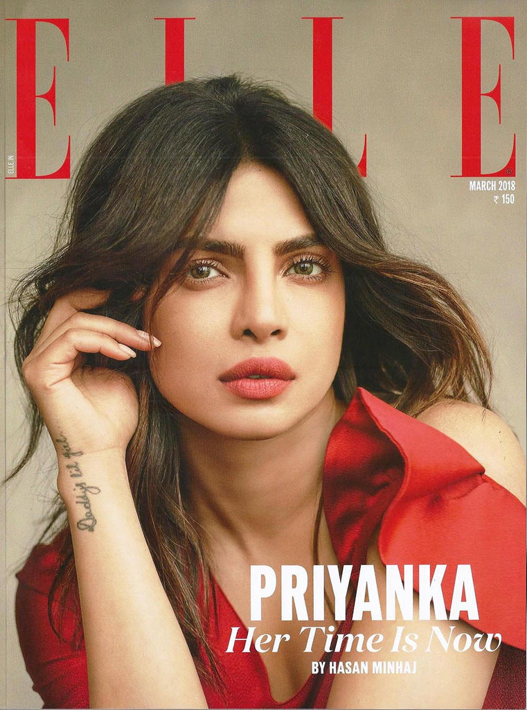 Purearth in Elle India March 2018