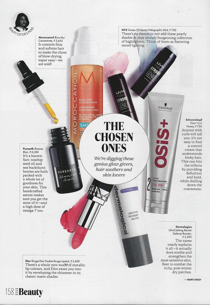 Purearth in Elle India, March 2018
