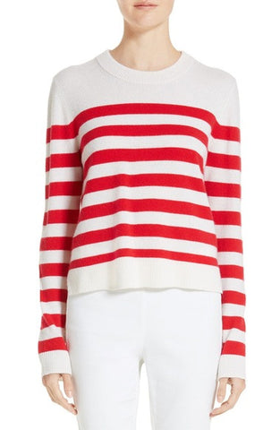 Lillian Stripe Cashmere Sweater