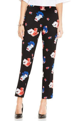 Traveling Blooms Ankle Pants