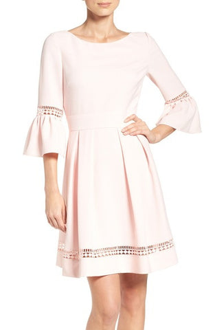 Bell Sleeve Dress (Regular & Petite)