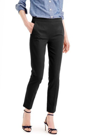 'Martie' Bi-Stretch Cotton Blend Pants (Regular & Petite)
