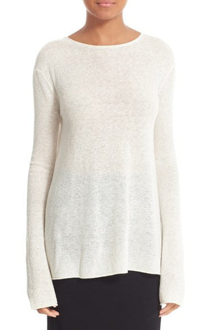 Flare Cashmere Sweater