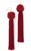 The Astrid Knotted Tassel Earrings