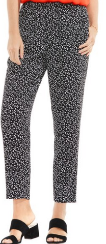 Dotted Harmony Soft Ankle Pants