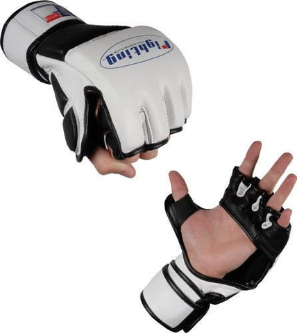 Fighting Sports Leather MMA Gloves