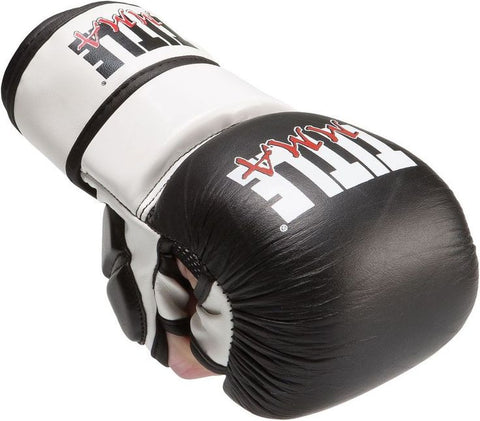 Title MMA Safety Sparring Gloves
